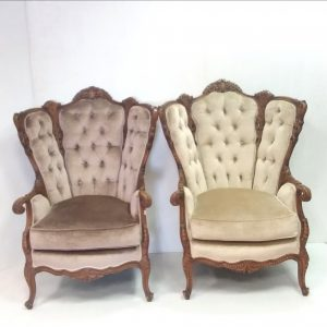 Antique Style Pair of Armchairs