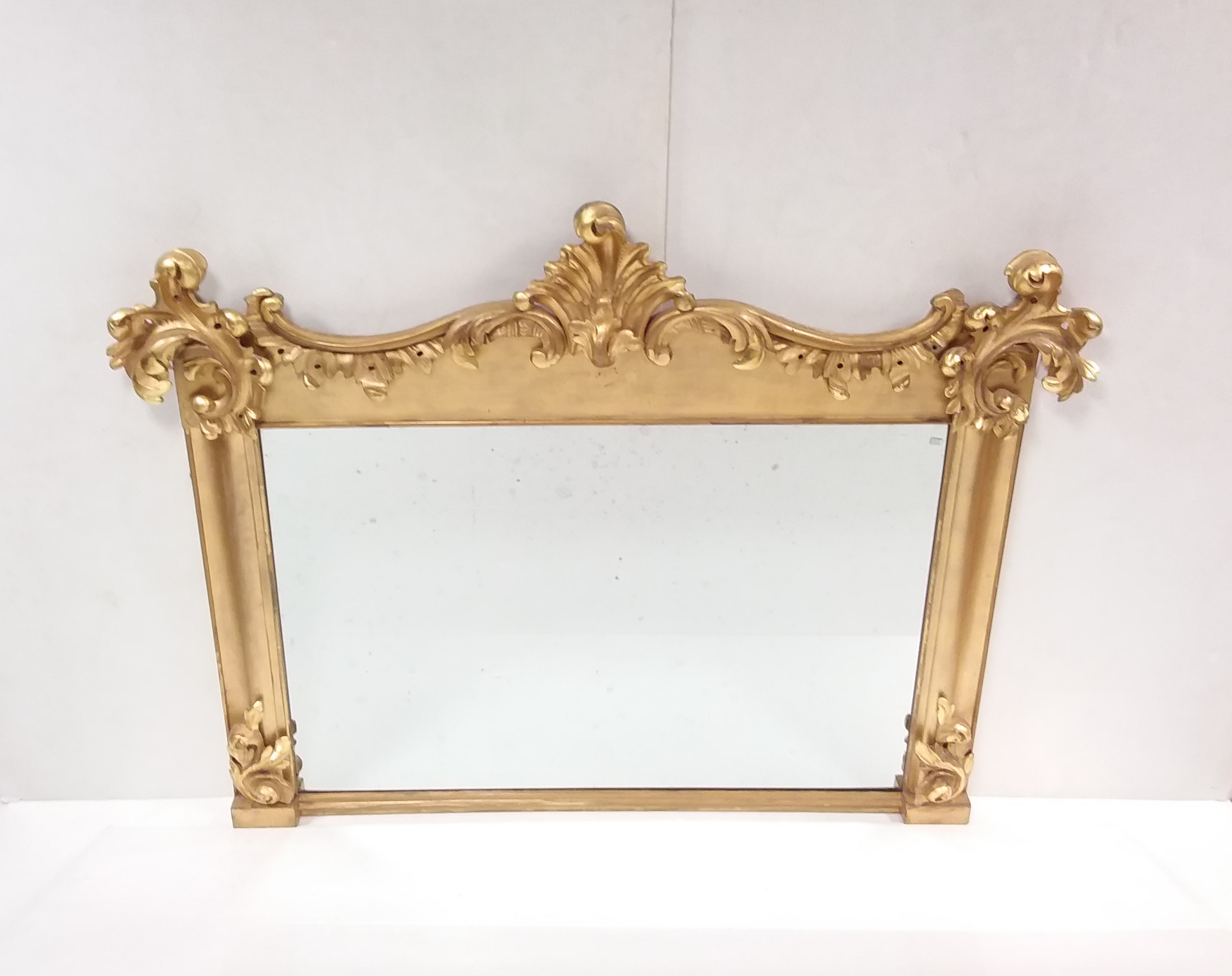 Antique_Early _19th_Century_Overmantle_Mirror