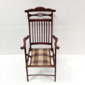 Antique_Edwardian_Fold_Up Armchair