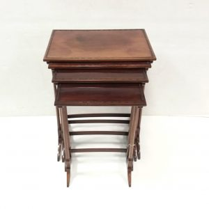 Antique Edwardian Nest of 4 Tables