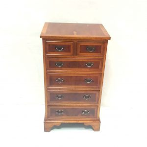 Yew Wood Slimline Chest