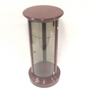 Cylinder Display Cabinet