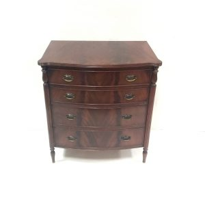 Bowfront Mahogany Chest
