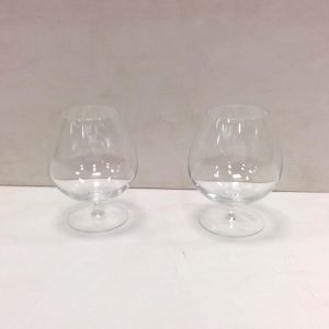 Pair of Waterford Brandy Glasses