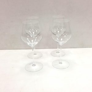 Set of 4 Waterford Wine Glasses