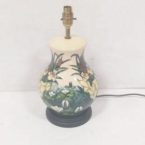 Large Moorcroft Table Lamp