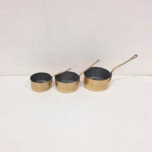 Set of Brass Pans