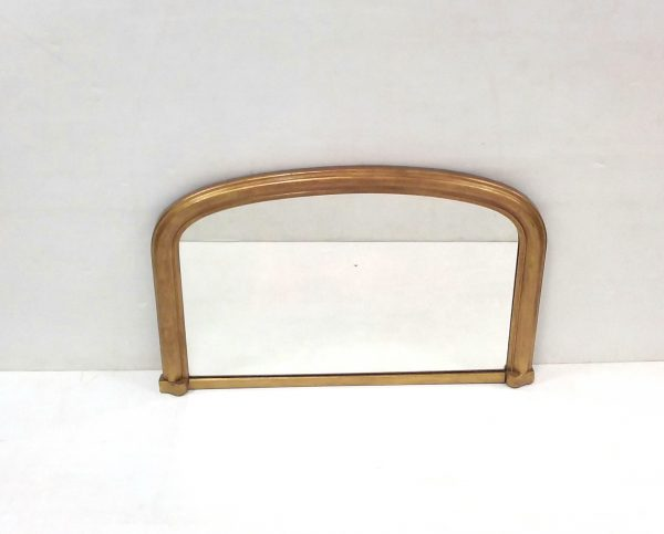 Victorian- gilt- mirror