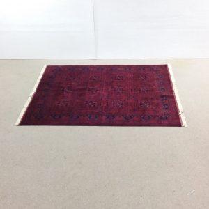 Hand- made- afgan- rug