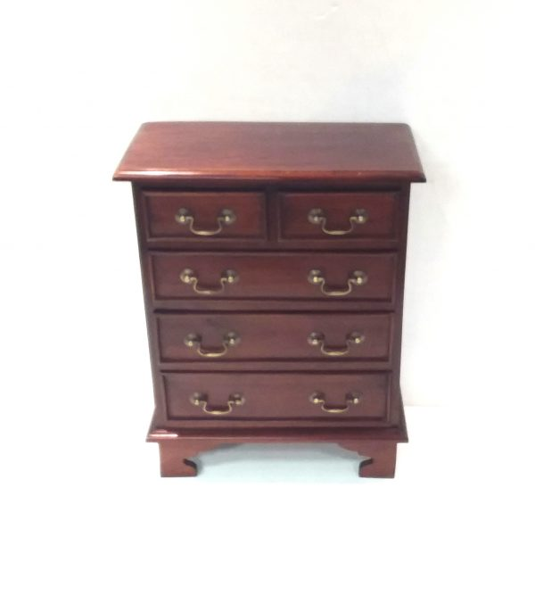 Antique Style Miniature Chest of Drawers
