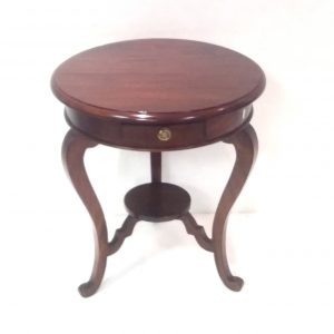 Antique Style Mahogany Occasional Table