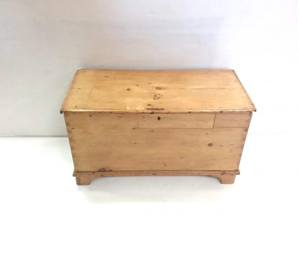 Antique Victorian Pine Blanket Box