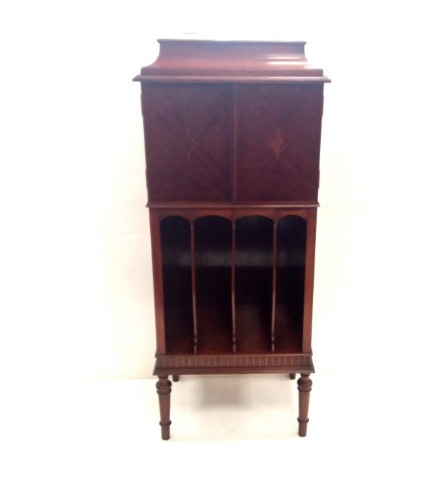 Edwardian- mahogany- inlaid- music- cabinet