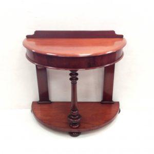 Victorian mahogany- bowfront- side