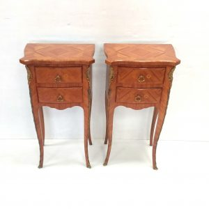 Pair Of Kingwood French Night Stands