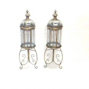 Pair Of Large Brass Lanterns