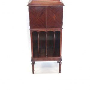 Edwardian - Inlaid- Mahogany -Music- Cabinet