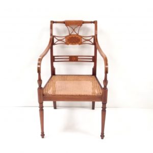 Antique Style Victorian Bergere Chair