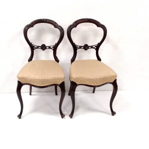 Mahogany- Victorian- Chairs