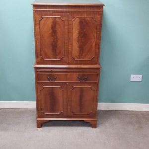 Mahogany-cocktail- cabinet