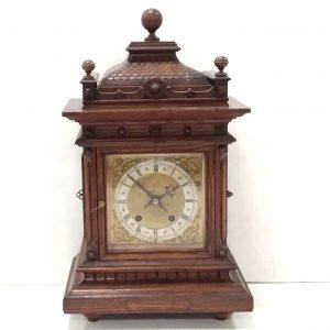 Antique Victorian Oak Bracket Clock