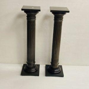 Pair Of Vintage Torcheres